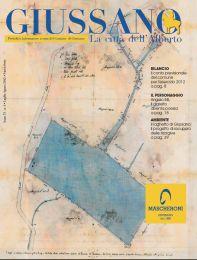 ritaglio antica cartina di Giussano