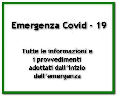 Informazioni Emergenza Covid