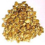 disegno di pagliuzze d'oro