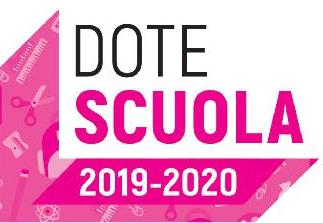 logo dote scuola 2019/2020