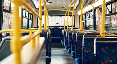 Interno di un autobus