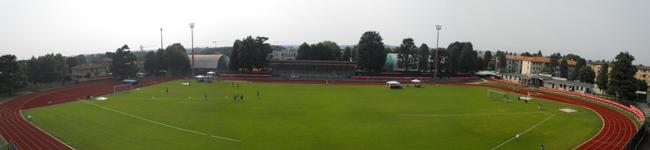 il centro sportivo a lavori ultimati