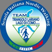 Logo della Scuola Italiana Nordic Walking Team Triangolo Lariano Lago di Como A.S.D.