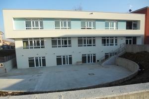 l'area esterna della scuola