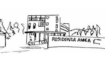 dipinto della struttura Residenza Amica