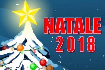 """Stralcio di locandina con scritta """"Natale 2018"""""""