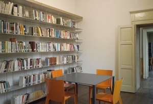 Biblioteca - particolare di una sala lettura