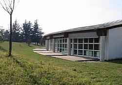 Foto dell'area esterna della Scuola prima dell'inizio dei lavori