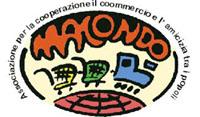 Il logo dell'associazione è formato da un ovale con nella parte inferiore la punta del mondo con un disegno stilizzato di un treno colorato, nella parte superiore la scritta macondo di colore arancione a sull'esterno la scritta associazione per la cooperazione il commercio e l'amicizia tra i popoli
