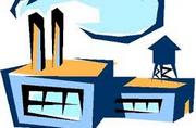 immagine stilizzata di una fabbrica