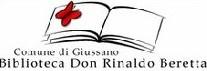 logo della biblioteca civica raffigurante un libro aperto