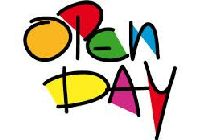 scritta open day