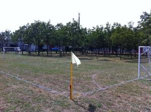 Il nuovo campo da calcio