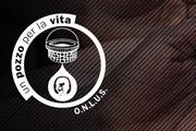 Logo Associazione con disegno di pozzo e goccia d'acqua