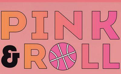 scritta PINK & ROLL su sfondo rosa