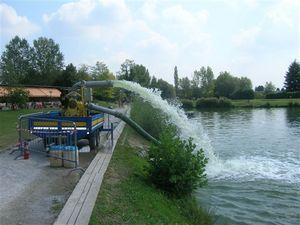 pompe idrovore in azione