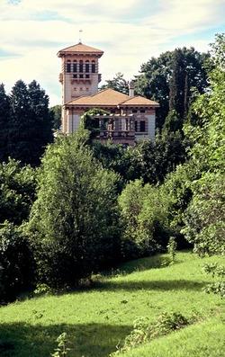 Villa Longoni - vista dal parco