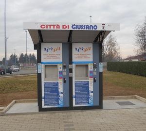il nuovo distributore di acqua