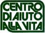Logo del centro di aiuto alla vita rappresentato dalla scritta in colore verde