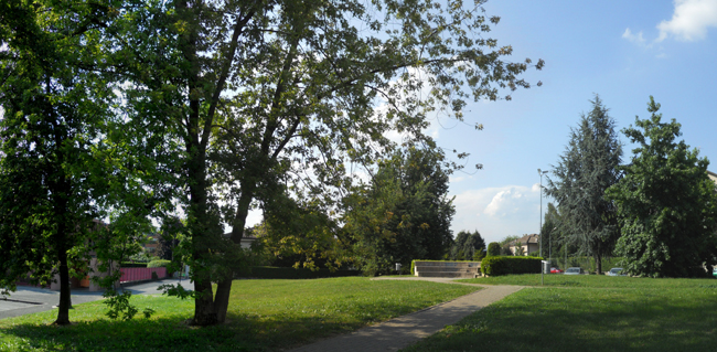 giardino di via oberdan