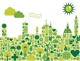 """Foto della città """"verde"""""""