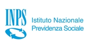 """Scritta """"INPS Istituto Nazionale Previdenza Sociale"""""""