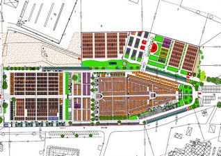 piantina del cimitero di Giussano