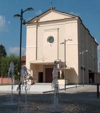 vista frontale della Chiesa Santo stefano