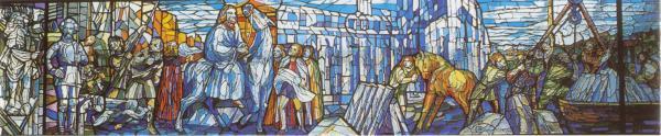 immagine della vetrata