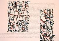immagine di una delle opere esposta alla mostra