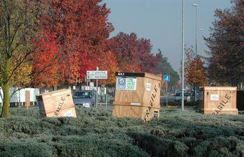 rotonda tra via Nenni e via D'Azeglio