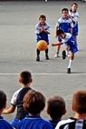 immagine di bambini calciatori