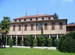 Villa Boffi - particolare del colonnato