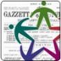 sullo sfondo la gazzetta ufficiale, in primo piano il logo anci del servizio civile